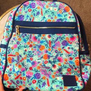 LuLaRoe Floral blue Backpack